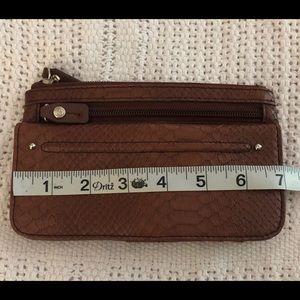 Faux snakeskin wallet/ clutch